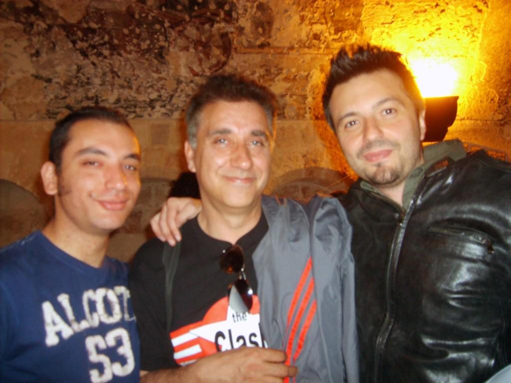 Foto con Emilio Urbano