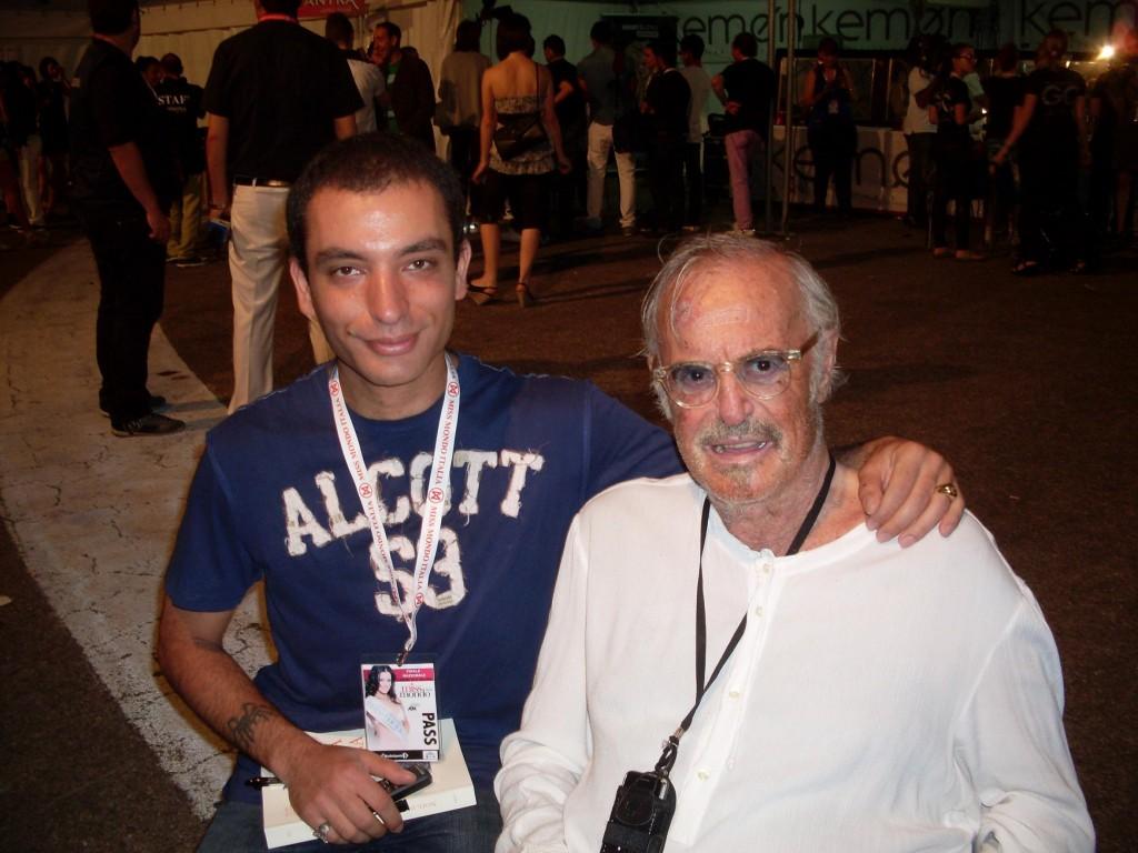 Foto con Franco Califano