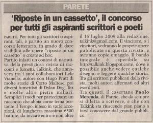 Gazzetta di Caserta 17-06-2009