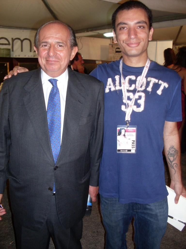 Foto con Giancarlo Magalli