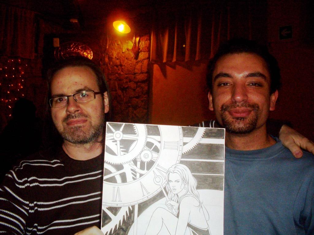 Foto con Giuseppe De Luca