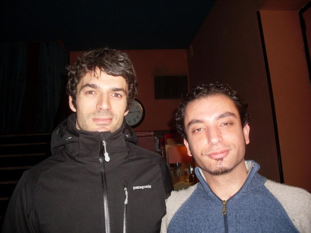 Foto con Luca Argentero