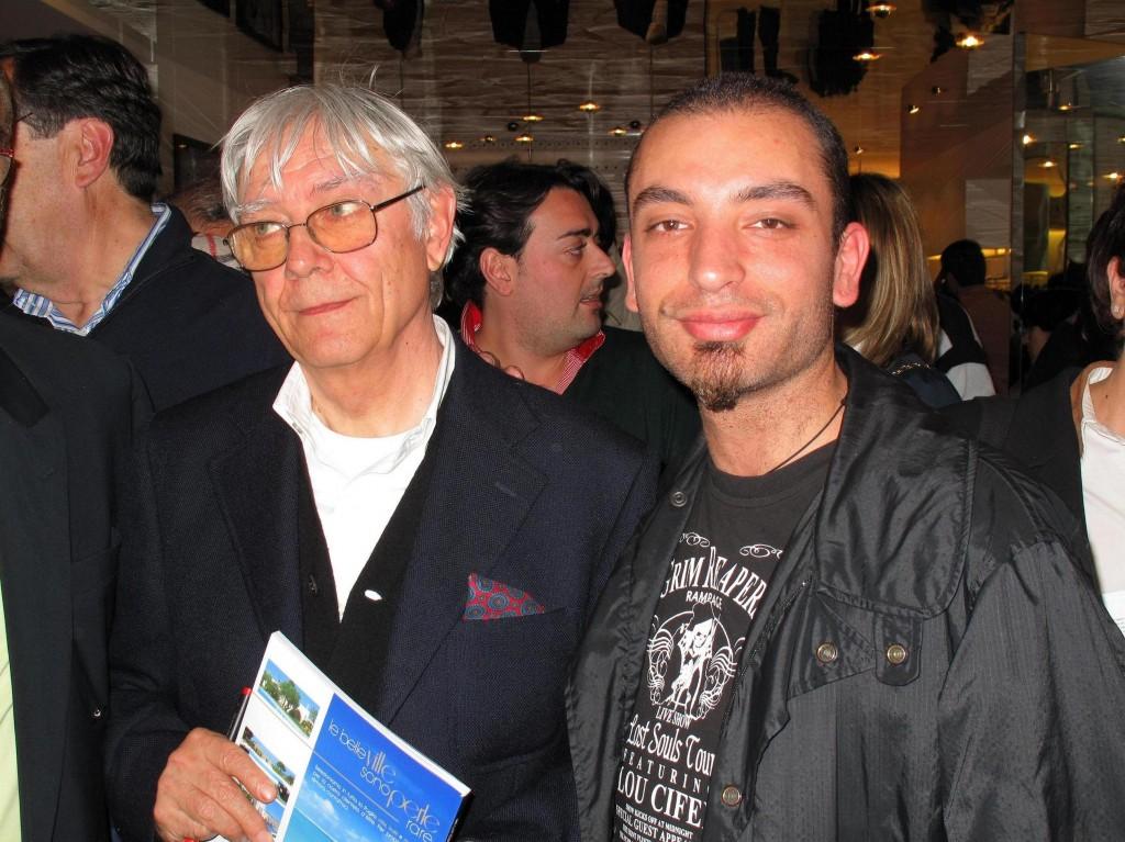 Foto con Milo Manara