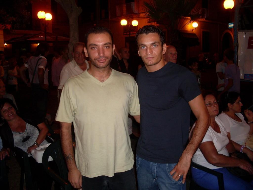 Foto con Vittorio Parrinello