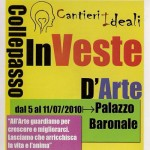 InVeste D'Arte (Fronte) - Palazzo Baronale Collepasso - luglio 2010