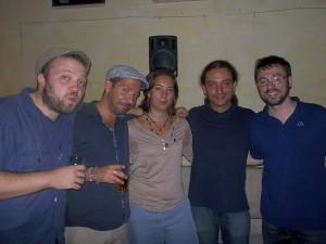 Paolo Colavero, Massimiliano Mandorlo, Chiara Hako, Paolo Merenda e Francesco Negro