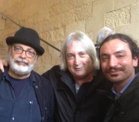 Foto – Lucio Montanaro, Marco Giusti ed Enrico Vanzina